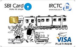 SBI IRCTC Platinum Card