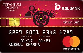 RBL Bank Titanium Delight Credit Card