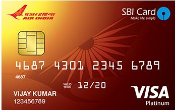 SBI Air India Platinum Card
