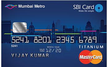 SBI Mumbai Metro Card