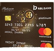 RBL Platinum Maxima Card