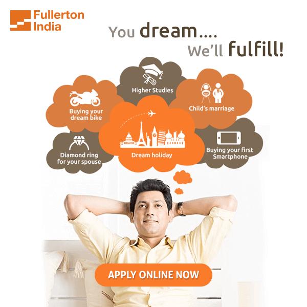 Fullerton India's online Personal Loan application