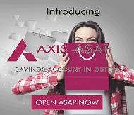 Axis Bank Saving Account