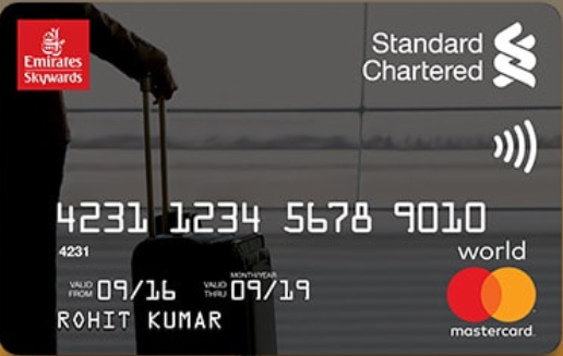 Standard Chartered Emirates Credit Card
