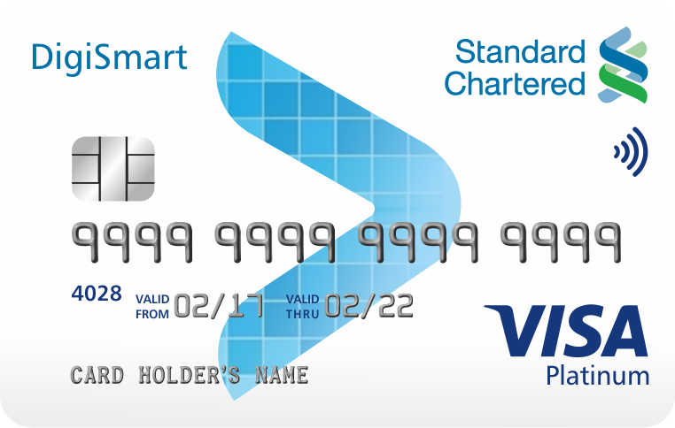 Standard Chartered DigiSmart Card