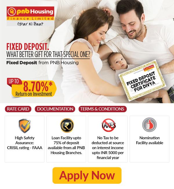 PNB Housing Fixed Deposit