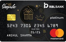 RBL SHOPRITE Credit Card